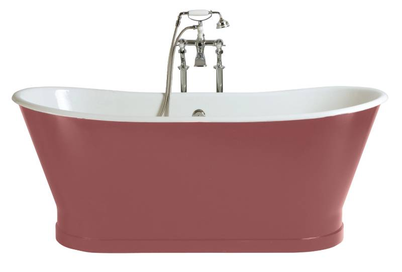 BRT76 - Freestanding cast iron bath