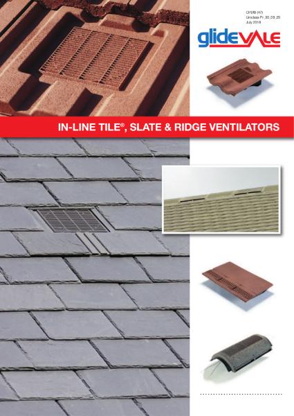 In-Line® Tile, Slate & Ridge Ventilators