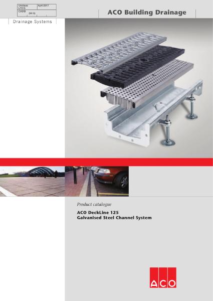 ACO Deckline 125 brochure