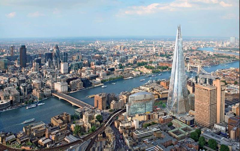 The Shard - DALI lighting control for Europe's tallest building