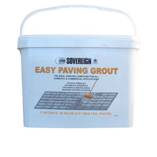 Easy Paving Grout