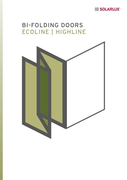 The Bi-fold Door Ecoline / Highline - data sheet