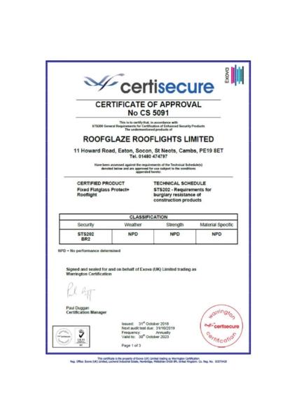 STS202 Certisecure Test Certificste