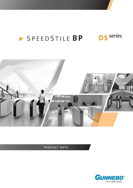 Speed Gate - SpeedStile BP Ds Series
