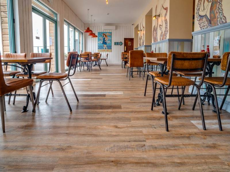 Polyflor heads to the seaside for fish and chip shop makeover