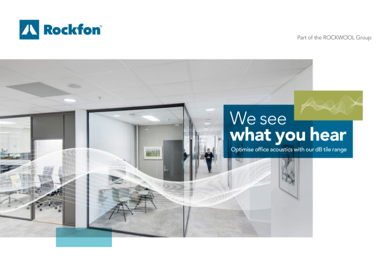 Optimise office acoustics with Rockfon dB ceilings
