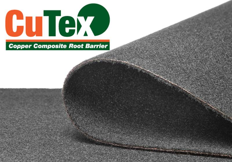 CuTex Copper Composite Root Barrier
