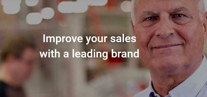 Improve your sales with a leading brand