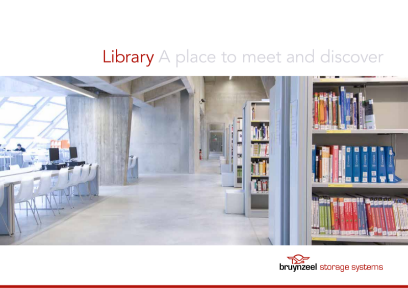 Bruynzeel library storage solutions