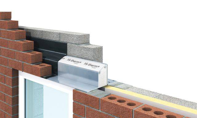 Cavity Wall - Hi-therm+ Steel/ Polymer Hybrid Lintel