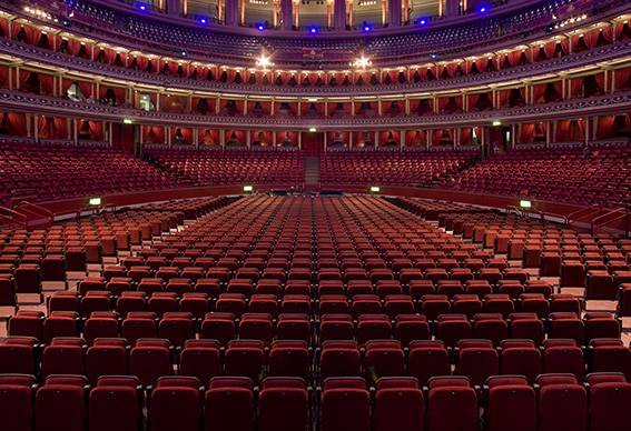 Royal Albert Hall - Fixed and Removable Auditorium Seating