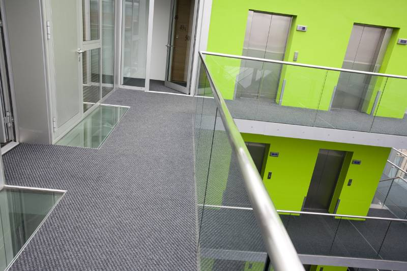 Think Apartments Case Study - Dreadnought Carpet Tile
