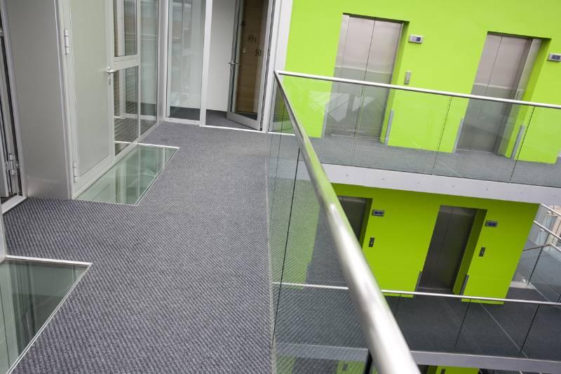 Think Apartments Case Study - Dreadnought Carpet Tile