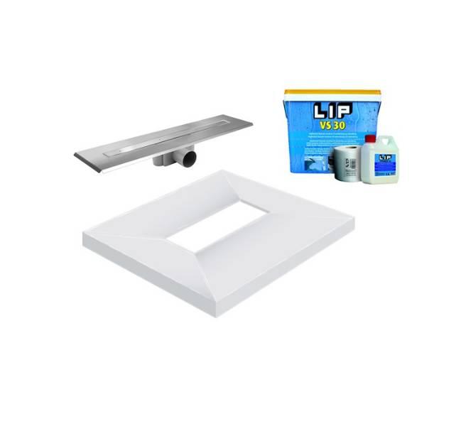 Unislope 4K Wetroom System