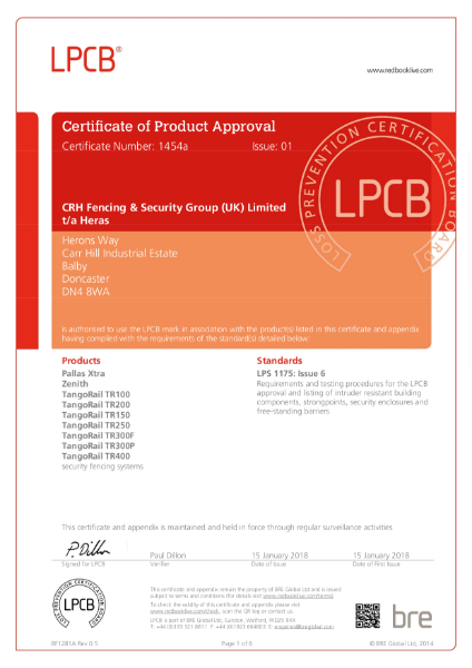 LPCB Product approval B