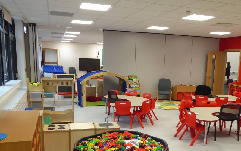 Flexible teaching space for forward-thinking primary school