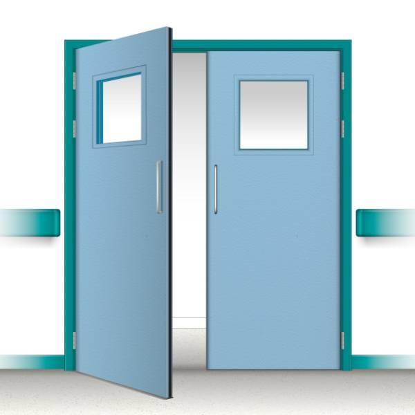 Postformed Double Doorset - Vision Panel 10