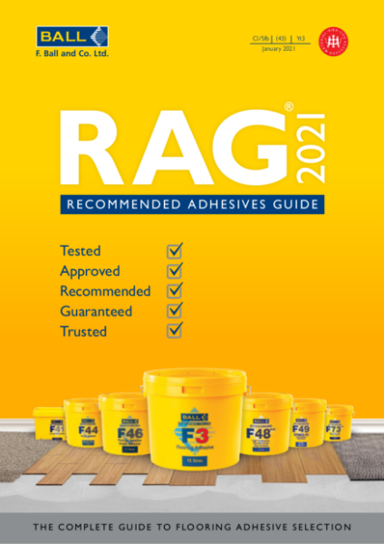 F Ball Recommended Adhesives Guide