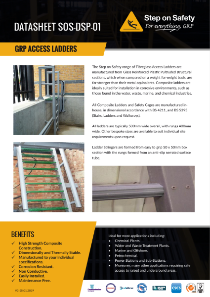 Access Ladders Data Sheet