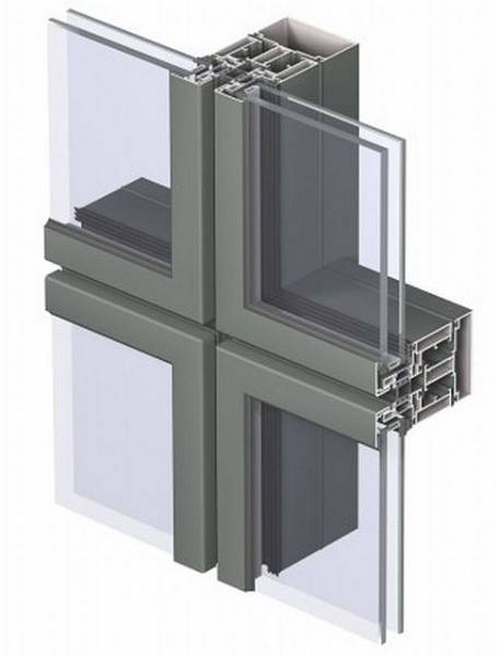 Aluminium Curtain Wall CW 86