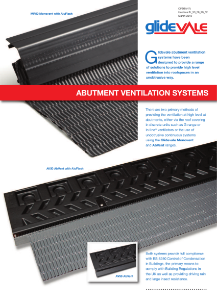Abutment Ventilation Systems