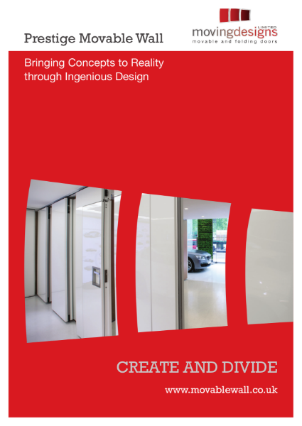 Prestige Acoustic Moveable Wall Brochure