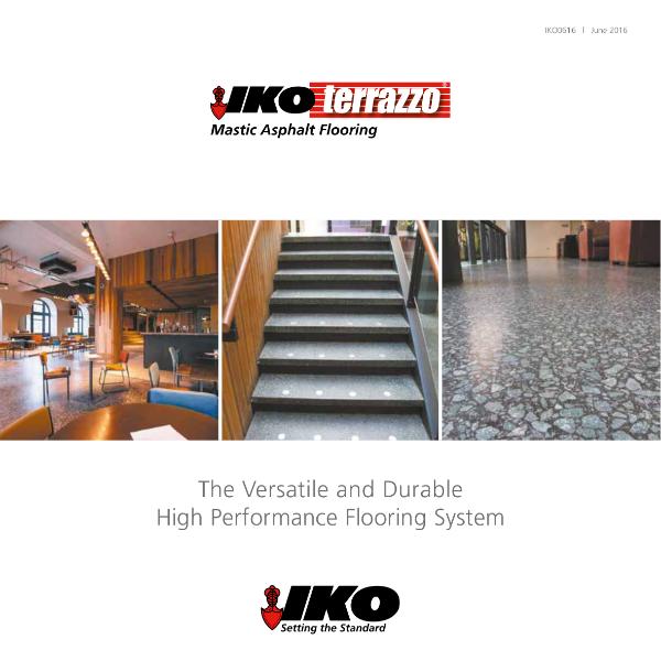 IKO Terrazzo Flooring