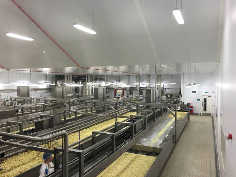 Cheese Production Unit - Controlled Environments - Hemsec Control 30
