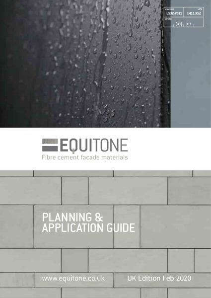 EQUITONE planning and application guide