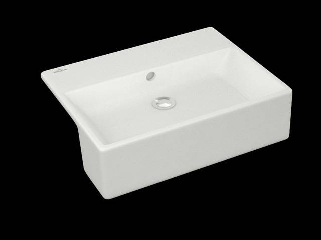 MEMENTO Semi-Recessed Washbasin 4133 55 XX
