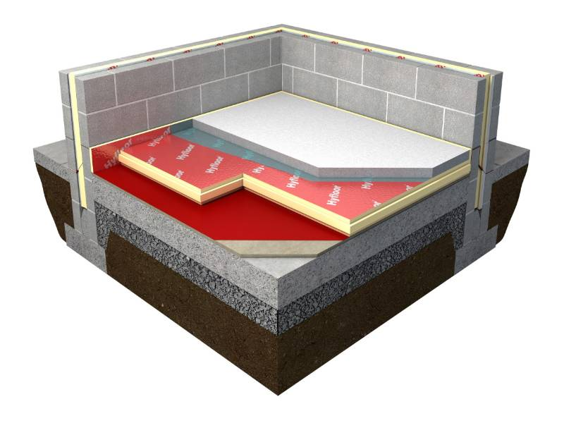 Thin-R XT/HYF T&G Hyfloor Floor Insulation