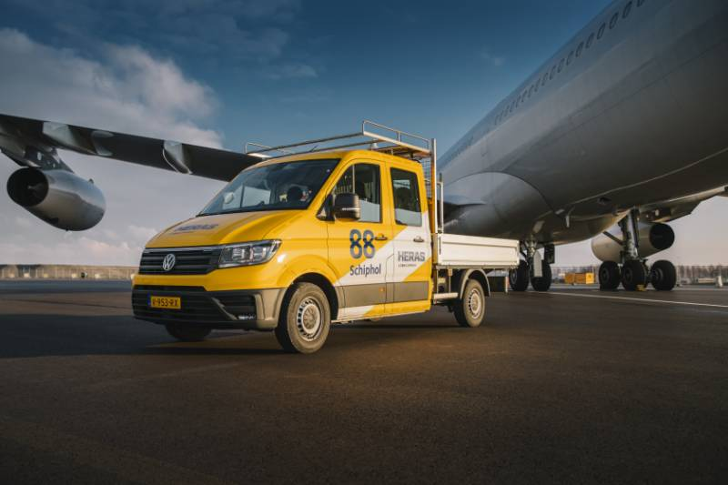 Heras replaces airport Schiphol (NL) perimeter
