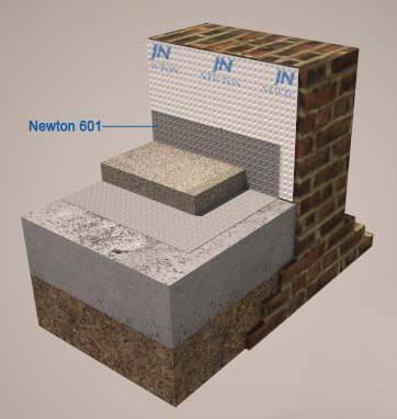 Newton 601 Slimline M6 - Flooring membrane