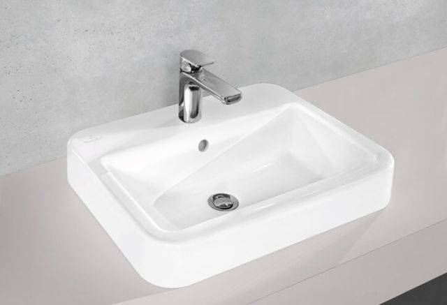 ARCHITECTURA Surface Mounted Washbasin 4125 40 XX