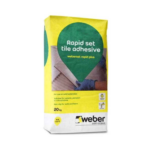 weberset rapid plus