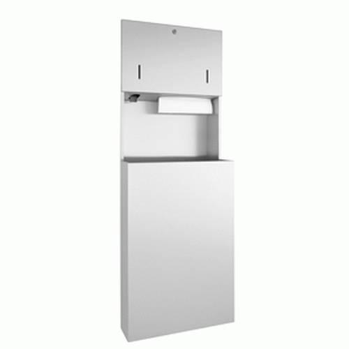 DP4308 Dolphin Prestige Combination Paper Towel, Soap Dispenser and Waste Bin