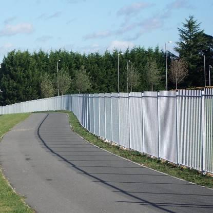 Solid Vertical Bar Railings