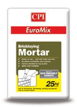 EuroMix Dry Mortar System – Masonry Mortar