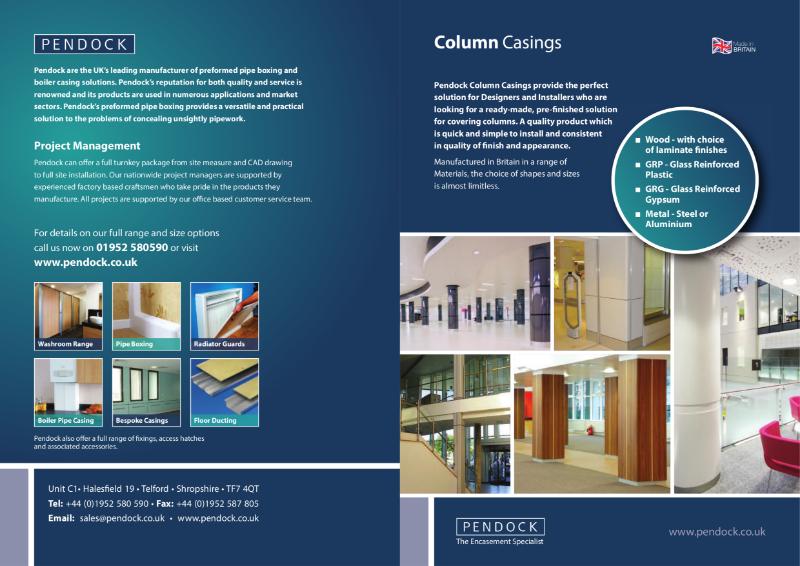 Pendock Column Casings