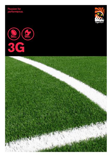 Artificial Grass - TigerTurf 3G Range