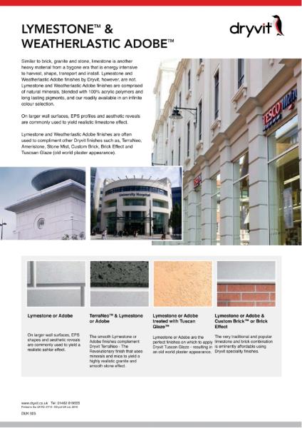 11. Lymestone & Weatherlastic Adobe