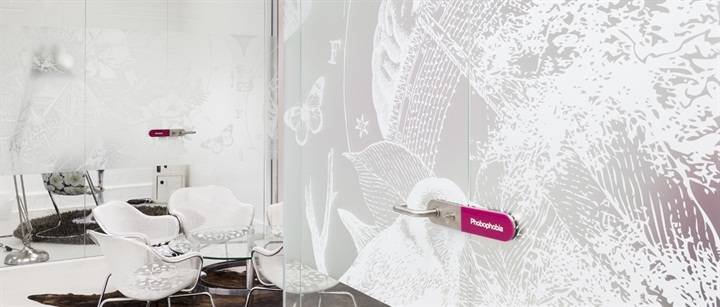 Printed Frosted Window Film for Office Internal Glass Partitions