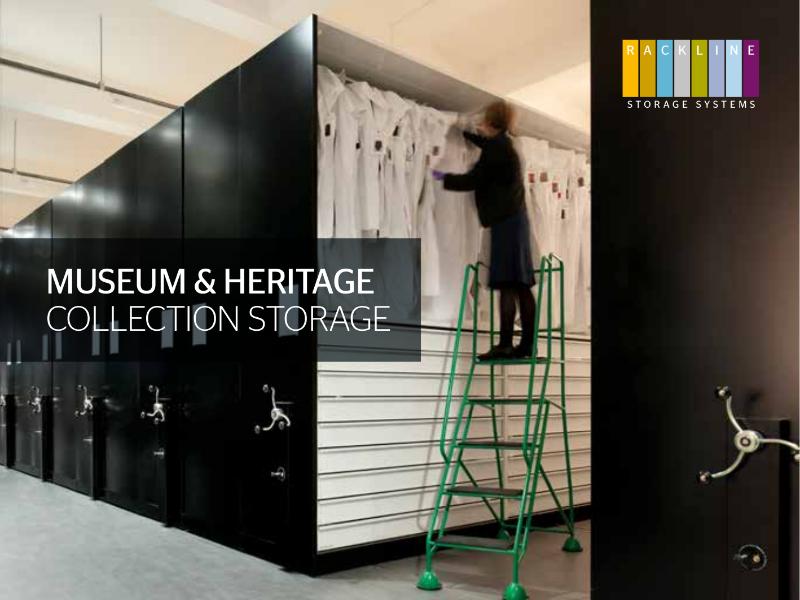 Museum and Heritage Storage Brochure