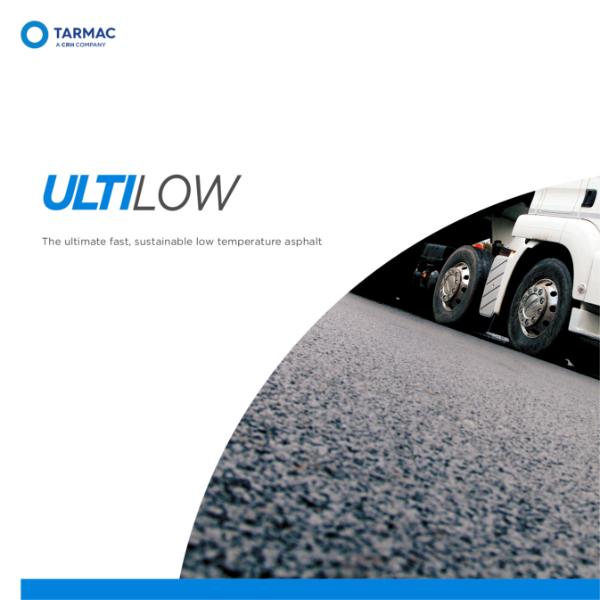 Sustainable asphalt - low temperature asphalt - Tarmac Ultilow