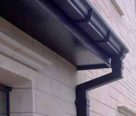 Legacy Moulded No46 Ogee Cast Aluminium Gutters