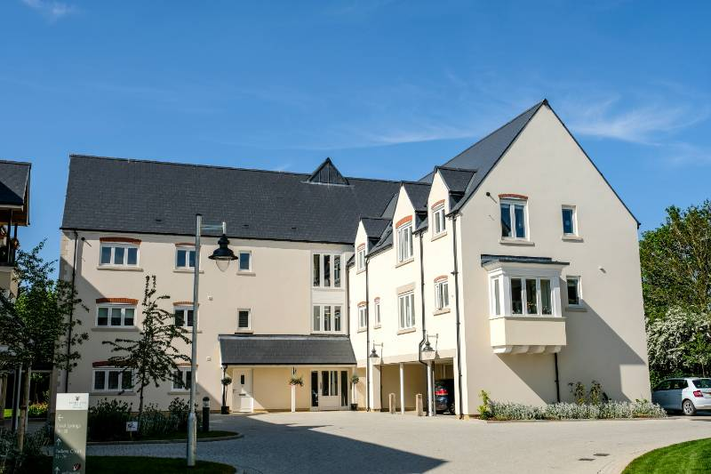 CEMBRIT BBA CERTIFIED SLATES TAKE CARE OF ROOFING AT A NEW RETIREMENT VILLAGE IN OXFORDSHIRE