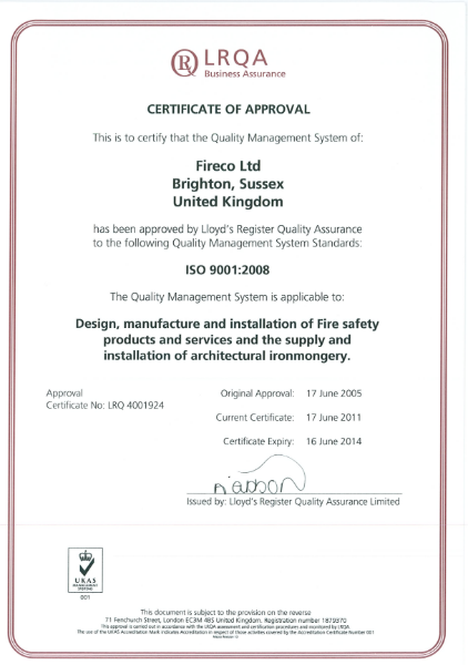 BS EN ISO 9001