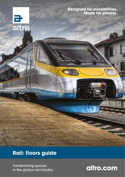 Altro Rail Sector Guide Brochure