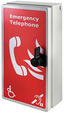 VILX-IPA Weatherproof Type A IP66 Fire Telephone