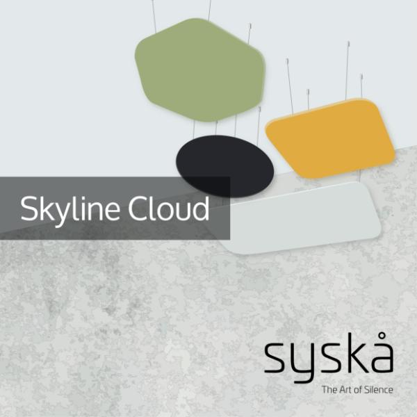 08 - Skyline Cloud - Acoustic Ceiling Panel - Technical Datasheet